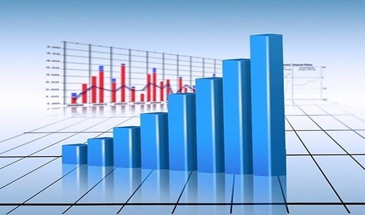 Speculative Investing Strategies - Growth Stocks; picture of a stock earnings bar chart with an increasing trend higher for traders to profit from