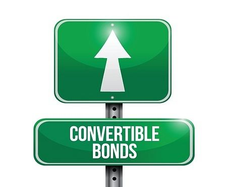 The Investing Style of Benjamin Graham - Picture of a road sign with a green background and large with letters with convertible bonds writing. Benjamin Graham used convertible bonds extensively.