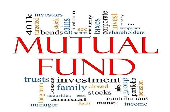 Selecting Funds - The Funds Selection Process; animated picture of nothing but writing all over it with the words mutual fund included along with investment and investors and stocks