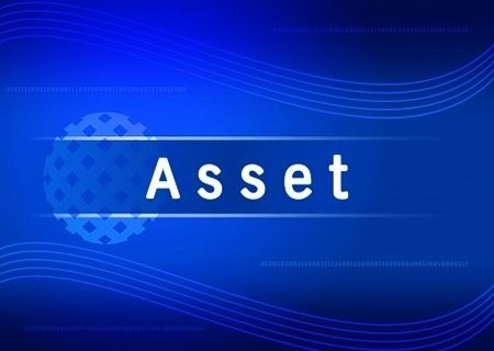 Understanding the Financial Statements - Understanding Basic Accounting; picture of a sign with a bright blue background showing the word asset in large white font capital letters